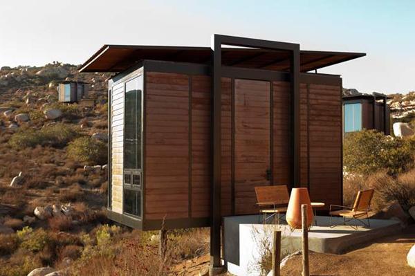 des mini maisons au coeur d 39 un site sauvage le guide cabanes abris de jardin pour construire. Black Bedroom Furniture Sets. Home Design Ideas