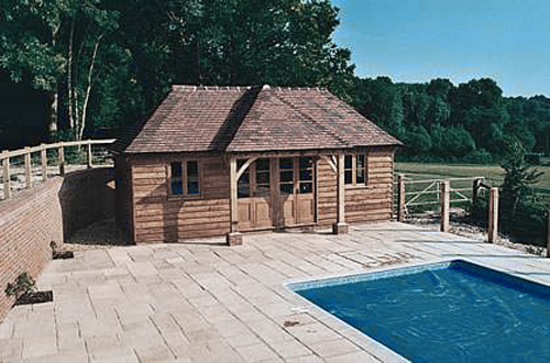 Le pool house une construction envisager d s lors qu for Construction pool house piscine