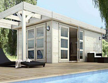 une piece de plus dans mon jardin. Black Bedroom Furniture Sets. Home Design Ideas