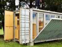 recyclage d un conteneur de 20 pieds zoom sur le projet d atelierworkshop. Black Bedroom Furniture Sets. Home Design Ideas