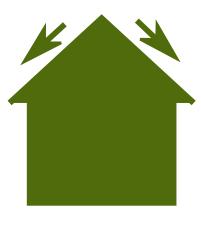 forme de toit double pente standard. Black Bedroom Furniture Sets. Home Design Ideas