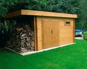 La cabane minimaliste cabanes abris de jardin et extensions construire soi m me - Cabane jardin toit plat pau ...