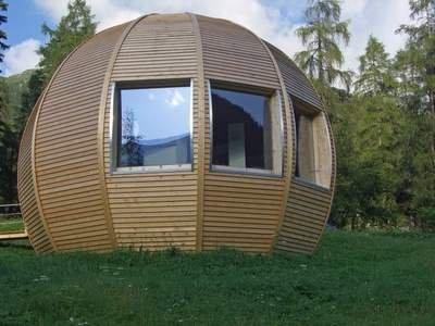 Cabane En Bois De Forme Sph Rique