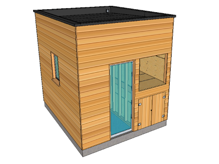 Plans de construction en bois (cabanes & abris) - ▷ Le guide ...