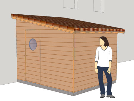 Plans De Construction En Bois Cabanes Abris Guide De