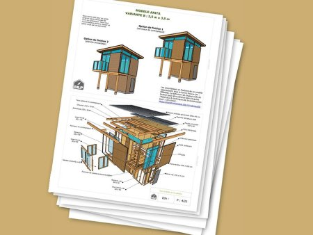 Plans de construction en bois (cabanes & abris)