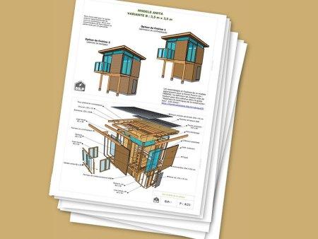 Plans De Construction En Bois Cabanes Abris Guide De Construction Et Plans De Cabanes Abris De Jardin A Faire Soi Meme