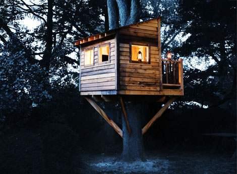 Quelques r gles essentielles connaitre pour la construction d 39 une cabane dans un arbre le - Construire une cabane dans un arbre ...