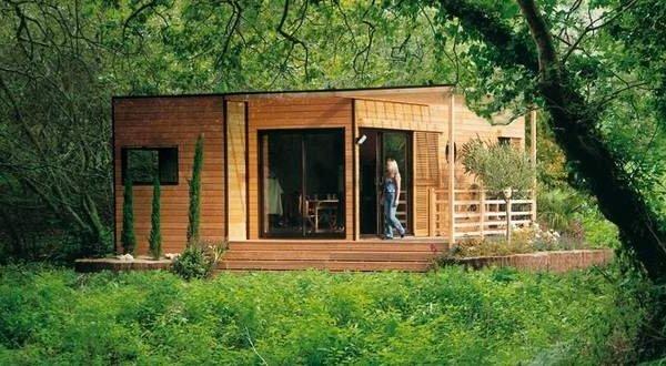 Studio ind pendant for Idee cabane en bois